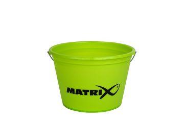 Matrix Groundbait Bucket zwart - groen visemmer 25l
