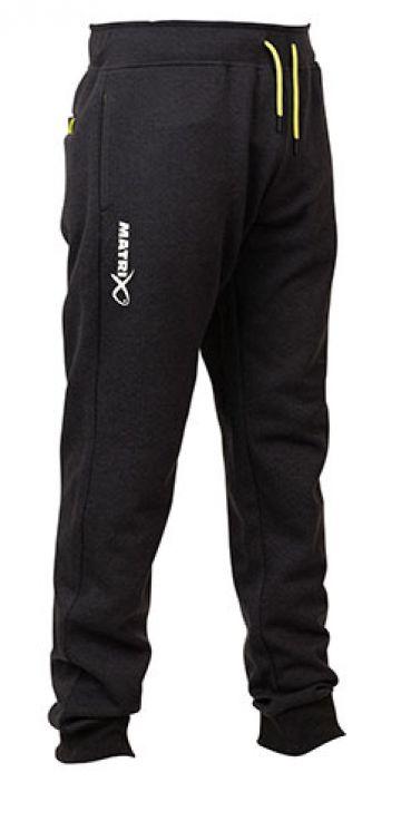 Matrix Minimal Black Marl Joggers zwart - grijs - groen visbroek X-large