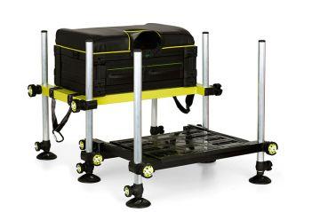 Matrix P25 MKII Seatbox zwart - limoen witvis visbak