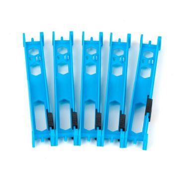 Matrix Pole Winders zwart - licht blauw onderlijn plankje 13cm