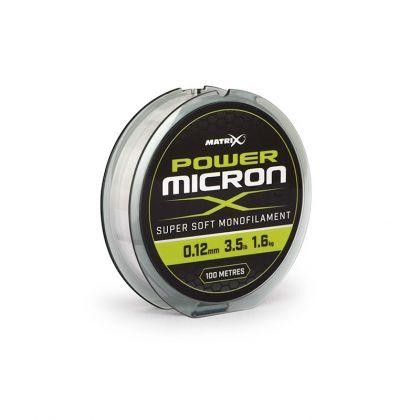 Matrix Power Micron X clear visdraad 0.12mm 100m 1.6kg