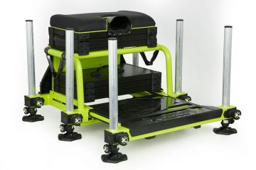 Matrix S36 Superbox Lime Edition lime witvis visbak