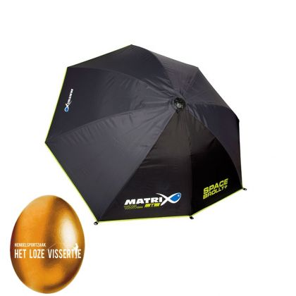 Matrix Space Brolly noir - gris - vert  125cm