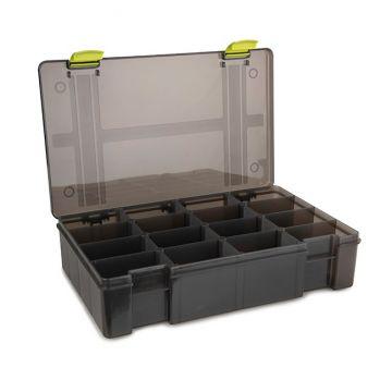 Matrix Storage Box 16 Compartiments Deep grijs visdoos