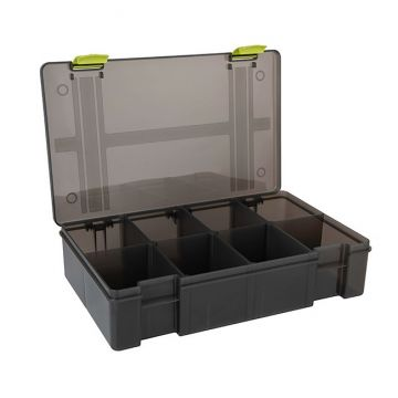 Matrix Storage Box 8 Compartiments Deep grijs visdoos