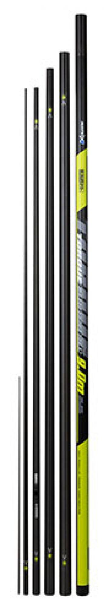 Matrix Torque Euro Carp zwart - groen witvis vaste hengel 9m00