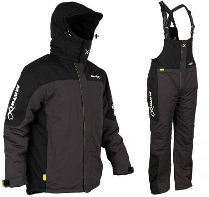 Matrix Winter Suit zwart - grijs warmtepak Medium