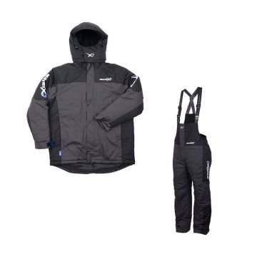 Matrix Winter Suit zwart - grijs warmtepak X-large
