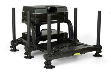 Matrix XR36 Pro Shadow Seatbox zwart witvis visbak