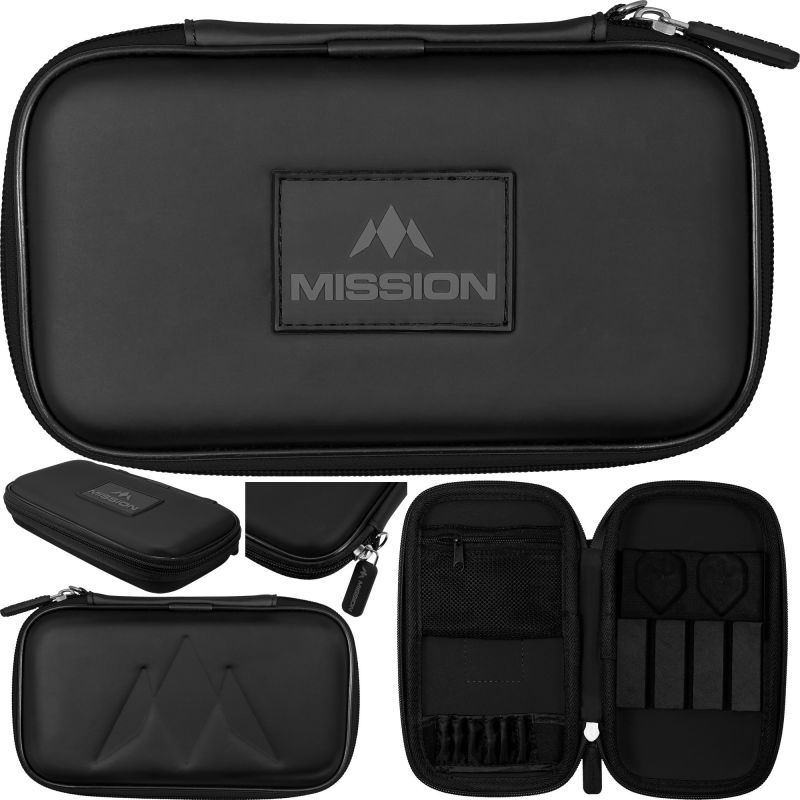 Mission Freedom XL Case zwart 12x20x4cm