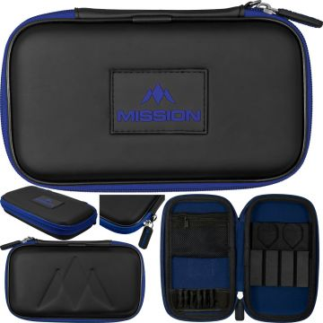 Mission Freedom XL Case zwart - blauw 12x20x4cm