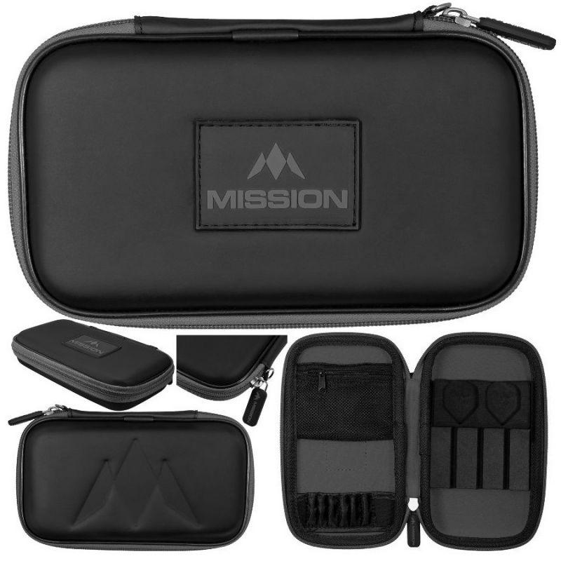 Mission Freedom XL Case zwart - grijs 12x20x4cm