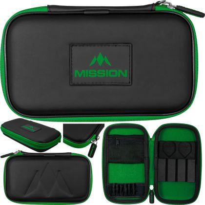 Mission Freedom XL Case zwart - groen 12x20x4cm