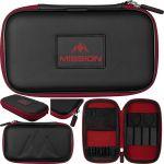 Mission Freedom XL Case zwart - rood 12x20x4cm