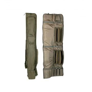 Nash Apache Rod Holdalls groen karper visfoudraal 12ft 3-rod