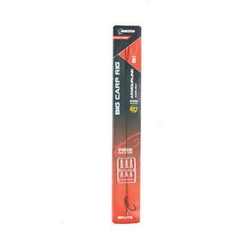 Nash Big Carp Rig Micro Barbed silt - zilver karper karper onderlijn H6 35lb