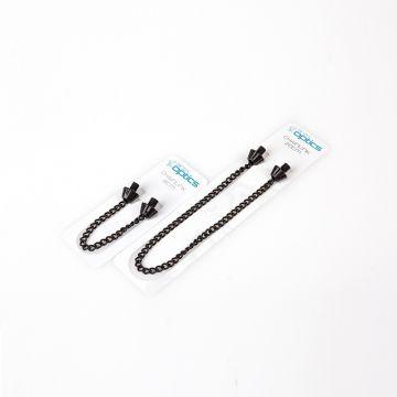 Nash Bobbin Chainlink zwart karper viswaker accessoire 20cm