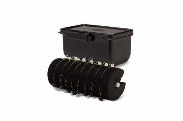 Nash Box Logic Chod Box zwart karper visdoos