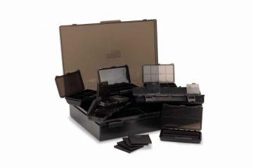 Nash Box Logic Tackle Box Loaded zwart karper visdoos Medium