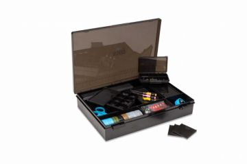 Nash Box Logic Tackle Box zwart karper visdoos Medium