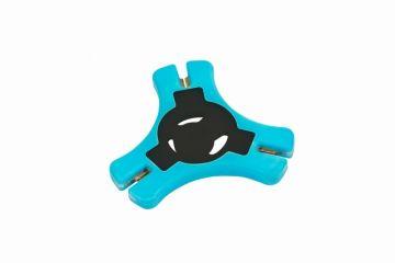 Nash Braid Stripper zwart - blauw karper rig accessoire