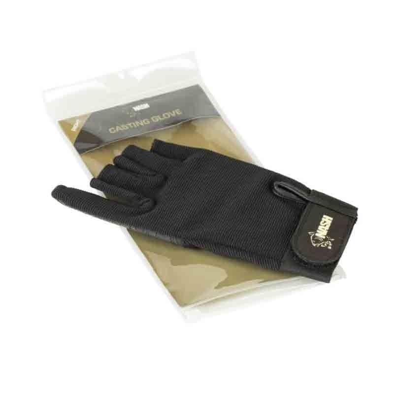 Nash Casting Glove zwart handschoen Right