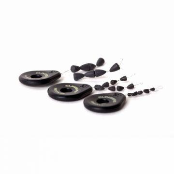 Nash Clingers Tungsten zwart karper klein vismateriaal Large