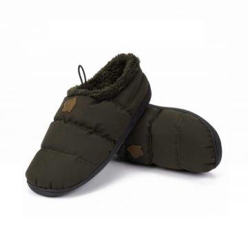 Nash Deluxe Bivvy Slippers groen schoen 42