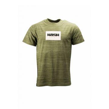 Nash Green T-Shirt groen vis t-shirt Small