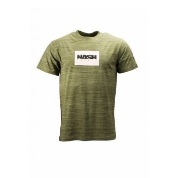 Nash Green T-Shirt groen vis t-shirt Medium