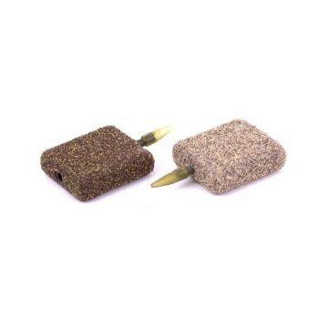 Nash In-Line Flat Square gravel karper vislood 56g