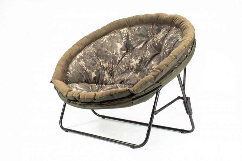 Nash Indulgence Low Moon Chair vert - brun