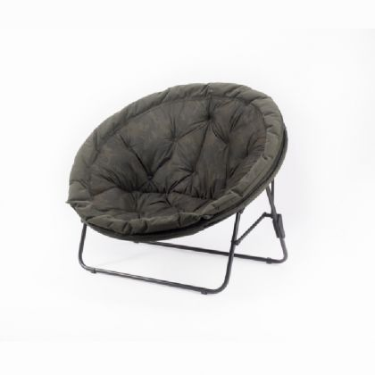 Nash Indulgence Low Moon Chair camo visstoel karperstoel