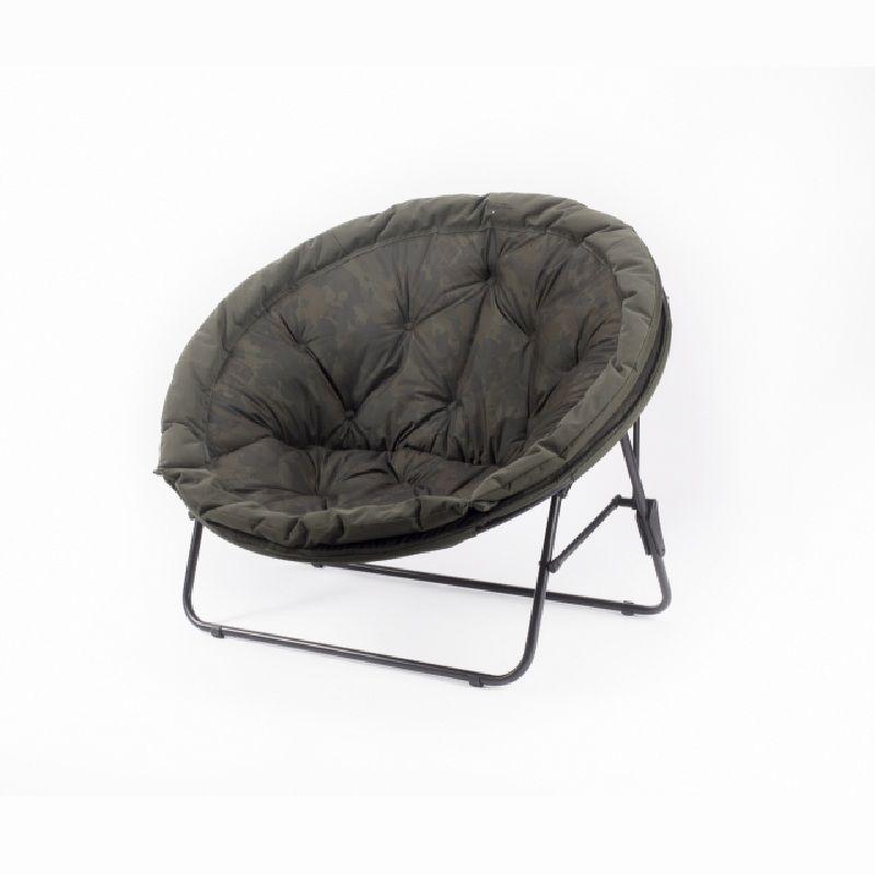 Nash Indulgence Low Moon Chair camo visstoel karperstoel