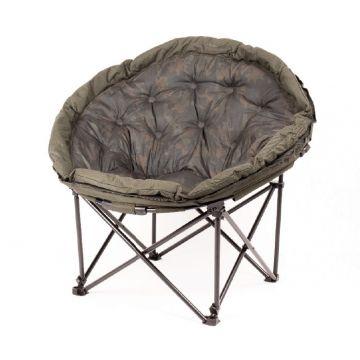 Nash Indulgence Moon Chair camo visstoel karperstoel