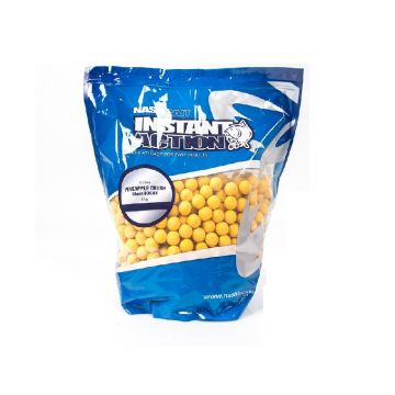 Nash Instant Action Pineapple Crush geel karper boilie 15mm 1kg