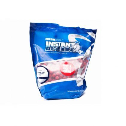 Nash Instant Action Squid & Krill rood karper boilie 12mm 1kg