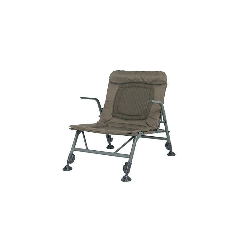 Nash KNX Low Chair groen visstoel karperstoel