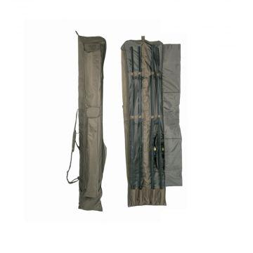 Nash KNX Rod Holdall groen karper visfoudraal 12ft 3-rod