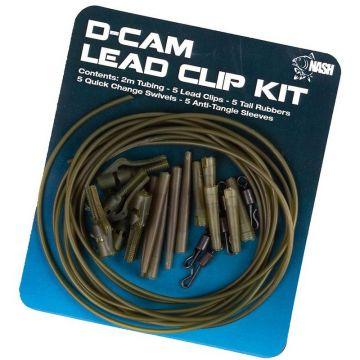 Nash Lead Clip Pack d-cam karper lood systeem