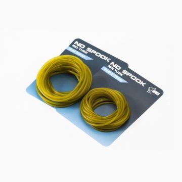 Nash No Spook Rig Tube Diffusion Camo transparant karper lood systeem 1.00mm 3m00