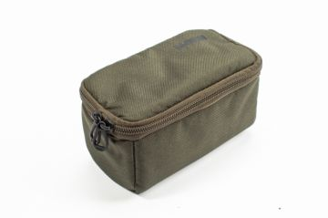 Nash Pouch groen - bruin karper karpertas Medium