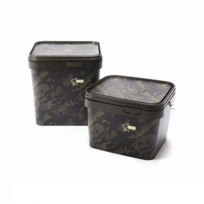 Nash Rectangular Bucket camouflage visemmer 10l
