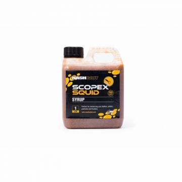 Nash Scopex Squid Syrup bruin aas liquid 1l