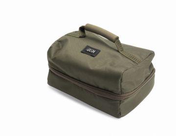 Nash Tackle Pouch groen - bruin karper karpertas