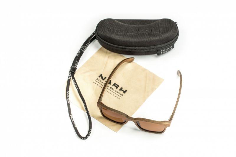 Nash Timber Sunglasses amber - brun
