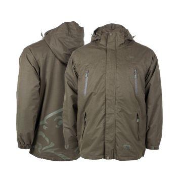 Nash Waterproof Jacket groen visjas Small