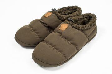 Nash ZT Bivvy Slippers groen - bruin schoen 43