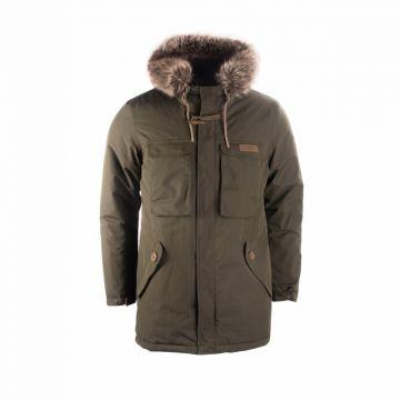 Nash ZT Caribou Parker groen - bruin visjas Large