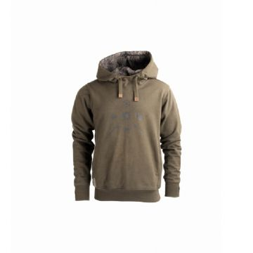Nash ZT Elements Hoody groen - bruin - camo vistrui Large